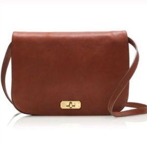 J. Crew Sophie Crossbody Bag Brown Leather NWT